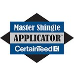 image of Certainteed Master Shingled Applicator Certification badge